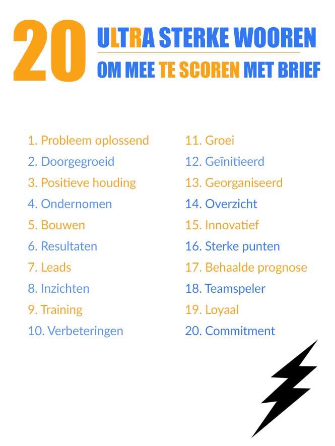 competenties cv Overzicht Competenties keuzes CV   Sollicitatieinfo.nl