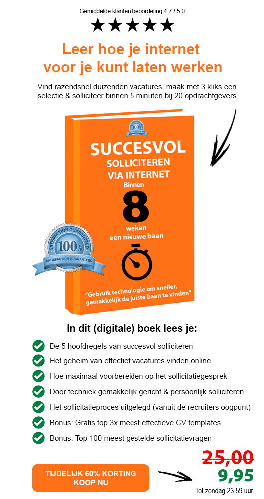 ebook solliciteren via internet